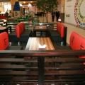 Интерьер кафе Суши-Терра в ТЦ МЕГА г.Новосибирск