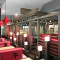 Общий план дизайна интерьера ресторана