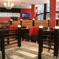 интерьер кафе Суши Терра на пр. Димитрова г.Новосибирск